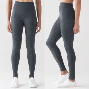 LULULEMON Free To Flow 7/8 Tight Fleck Speckles 4